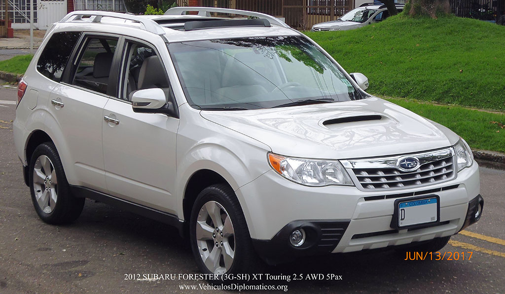 2012 subaru forester 3g hs xt touring 2 5 awd 5pax vehiculos diplomaticos. Black Bedroom Furniture Sets. Home Design Ideas
